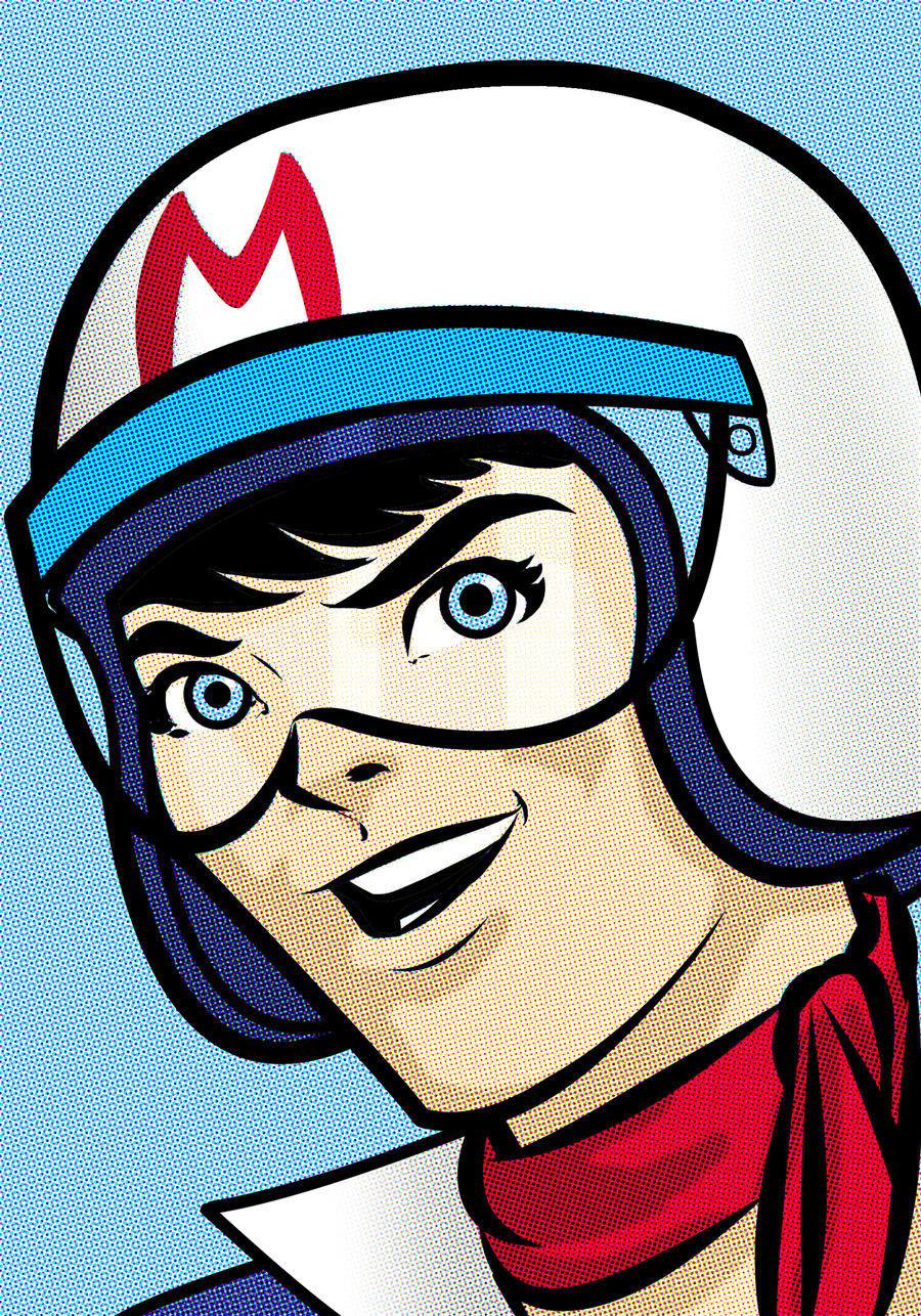 Speed Racer Portrait by Thuddleston