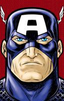 Captain America P. Series by Thuddleston