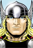 Thor Portrait Series by Thuddleston