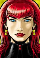Black Widow P. series by Thuddleston