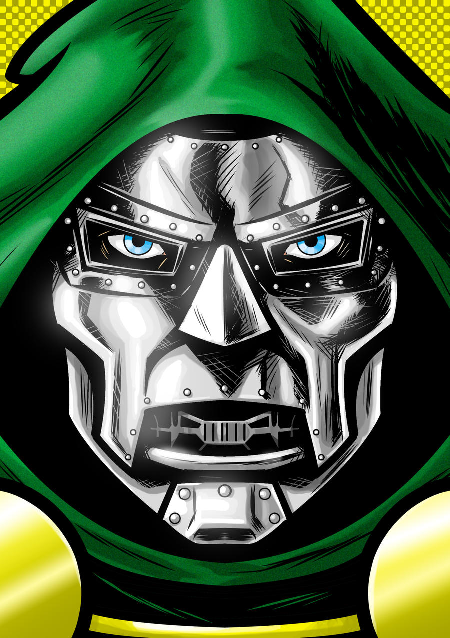 Dr. Doom P. Series by Thuddleston