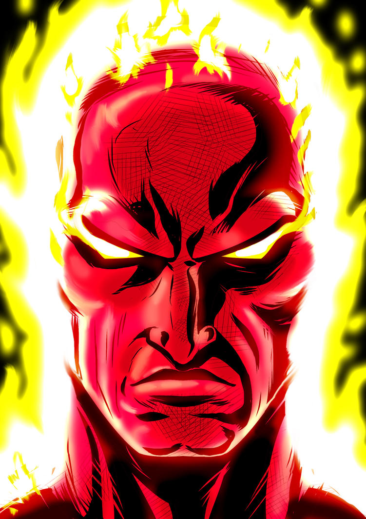Human Torch P. Series by Thuddleston