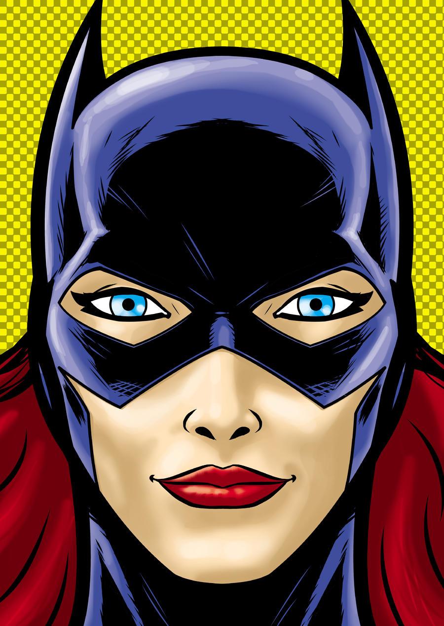 Close Up Characters Cartoon 01 : Batgirl by thuddleston on deviantart