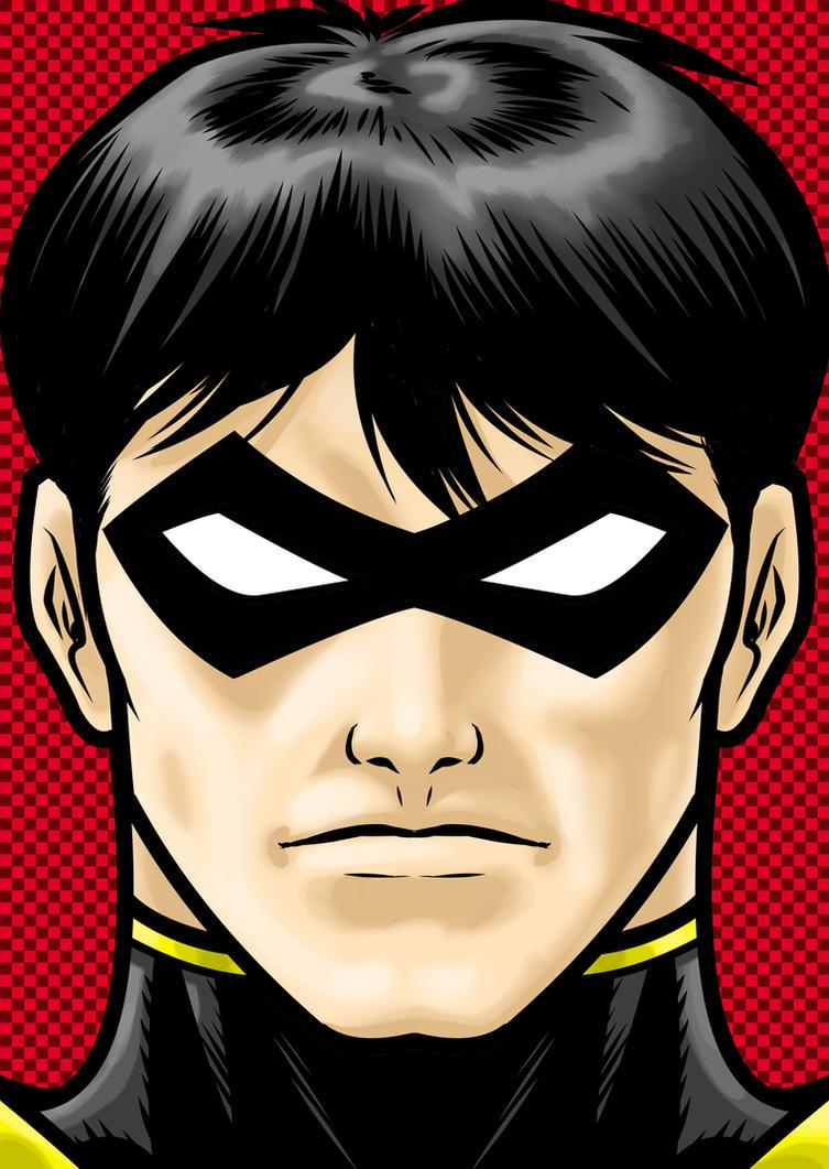 Tim Drake Robin by Thuddleston