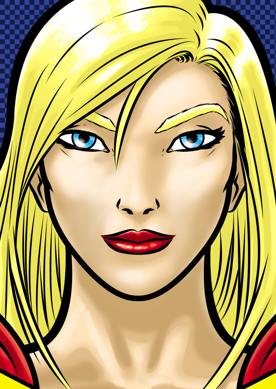 Supergirl by Thuddleston