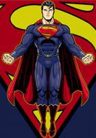 Superman 2013 Movie variant Prestige Series by Thuddleston