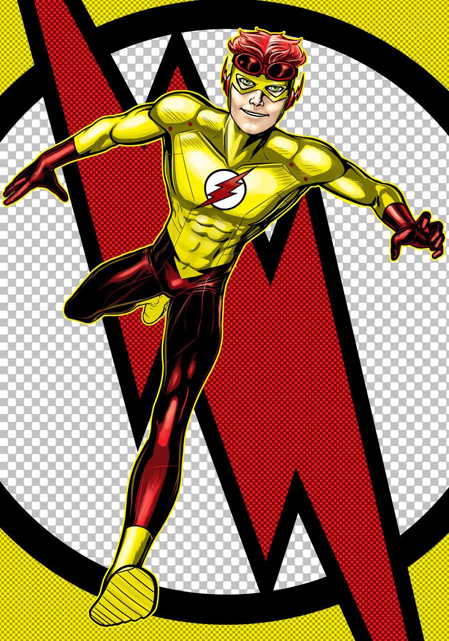 Kid Flash Prestige Series by Thuddleston