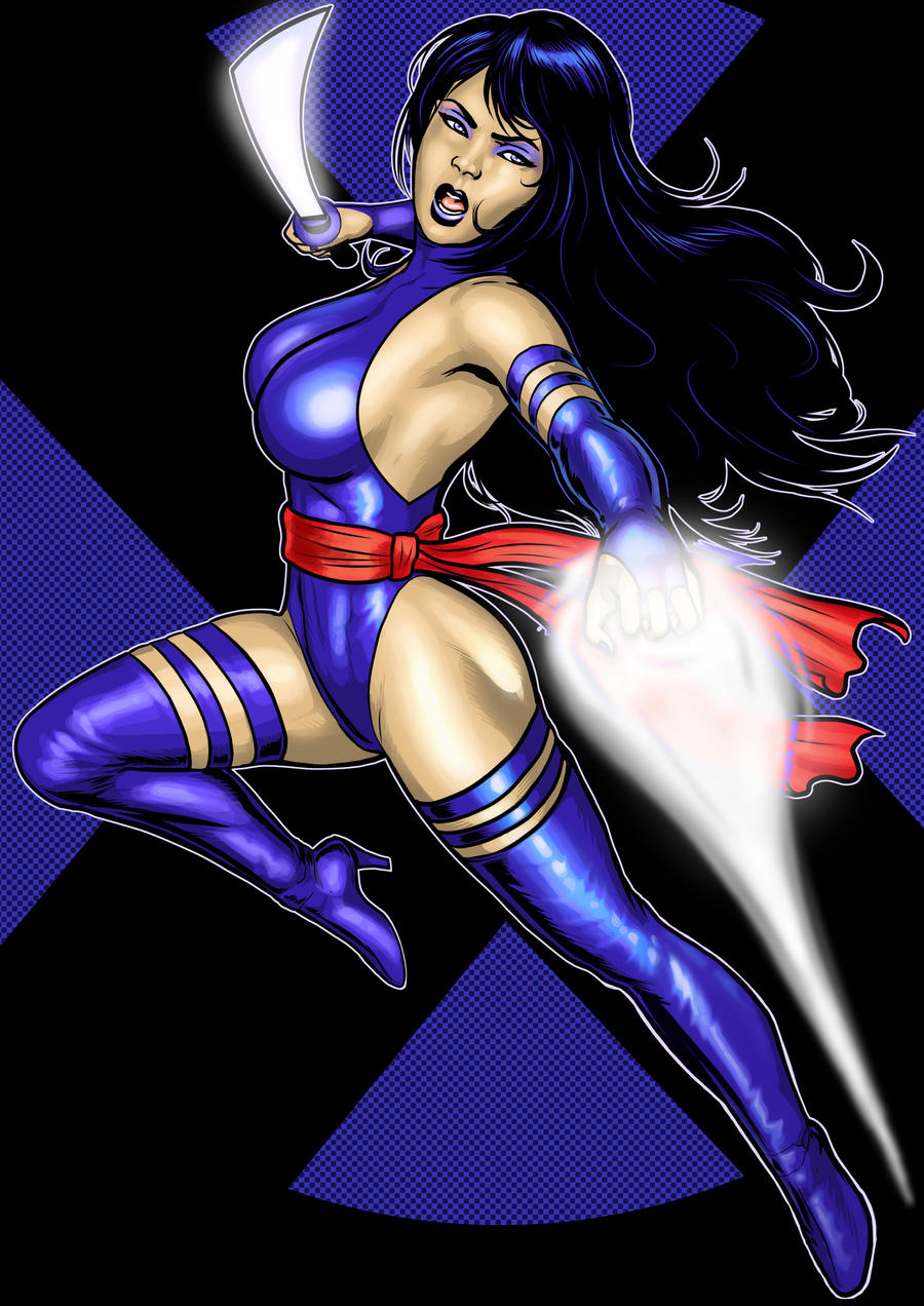 Psylocke Prestige Commission by Thuddleston