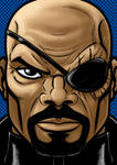 Nick Fury Portrait Series