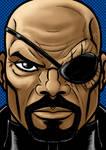 Nick Fury Portrait Series