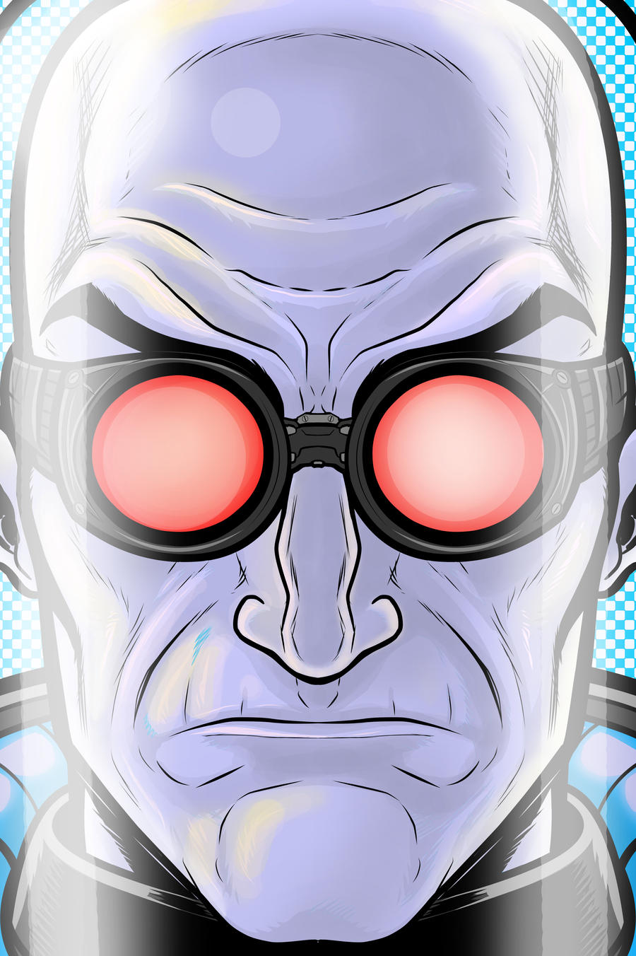 MR FREEZE Portrait Series by Thuddleston