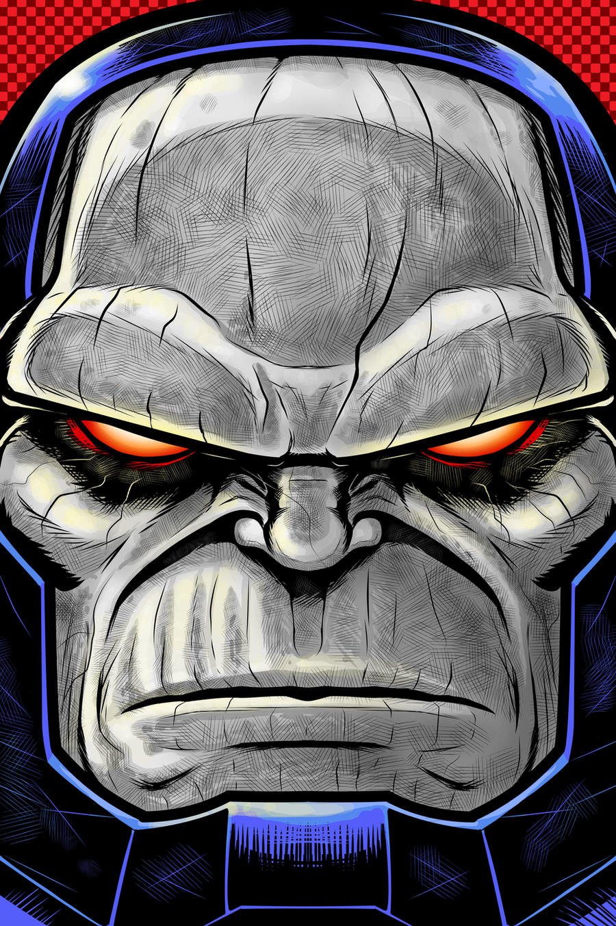 DARKSEID Portrait Series by Thuddleston