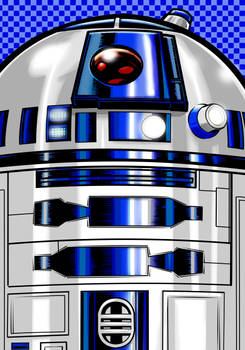 R2d2 Portrait Series