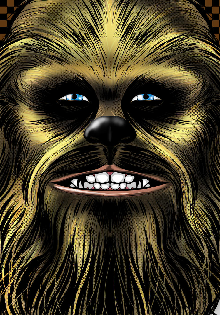 Chewie Portrait Series by Thuddleston