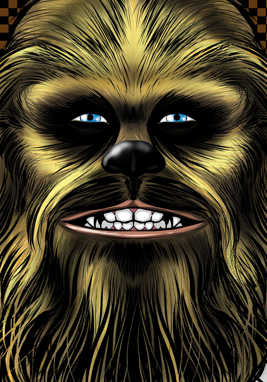 Chewie Portrait Series by Thuddleston
