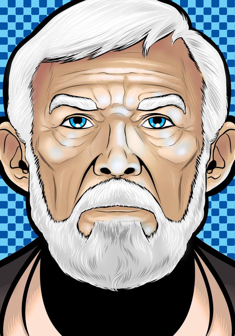 Saint Obi Wan Kenobi by Thuddleston