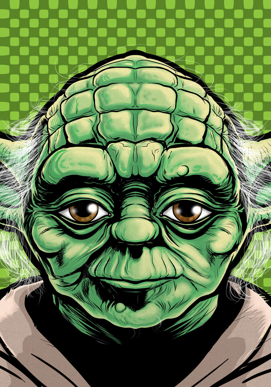 Yoda Portrait Shot by Thuddleston