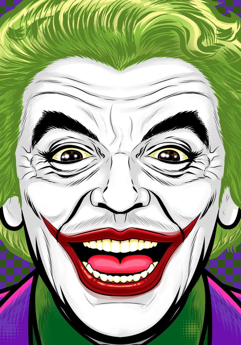 Ceasar Romero Joker by Thuddleston