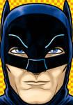 Adam West Batman by Thuddleston