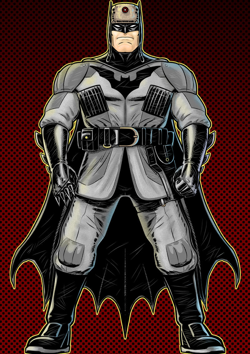 Soviet batman by Thuddleston