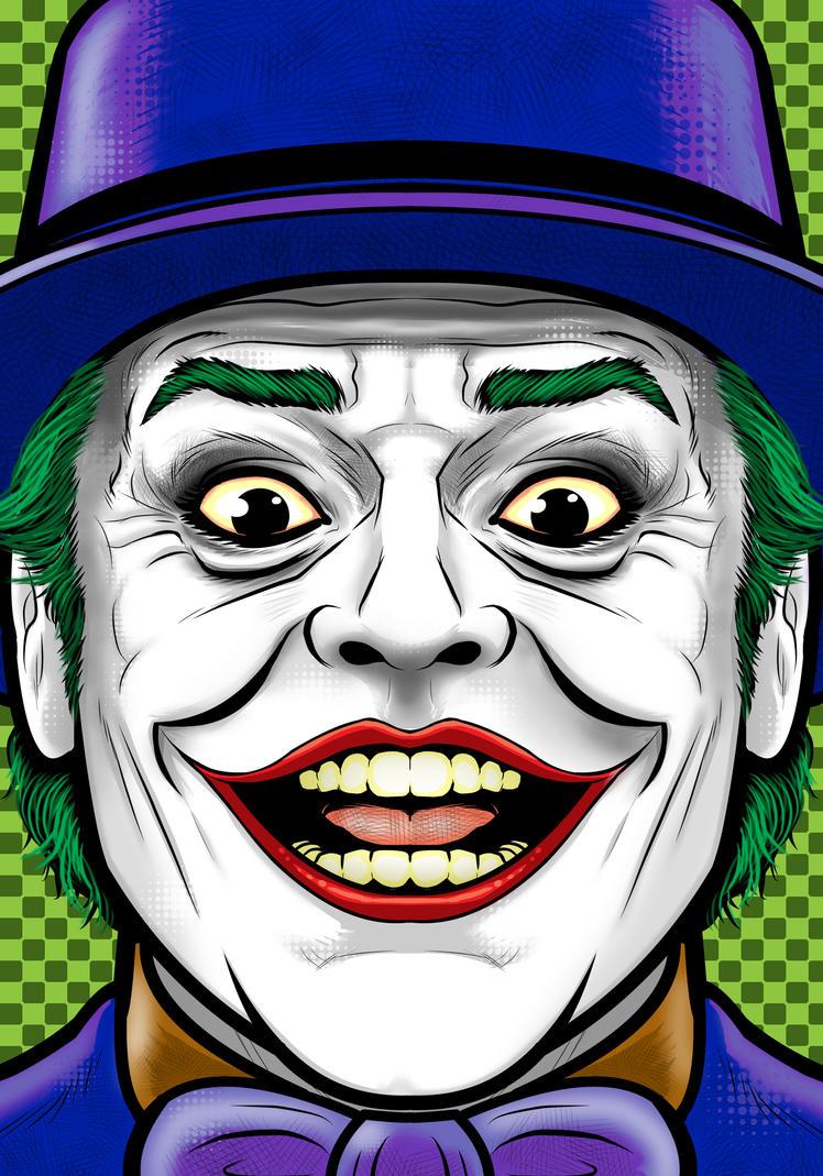 Jack Nicholson Joker by Thuddleston