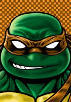 Turtles Mikey by Thuddleston