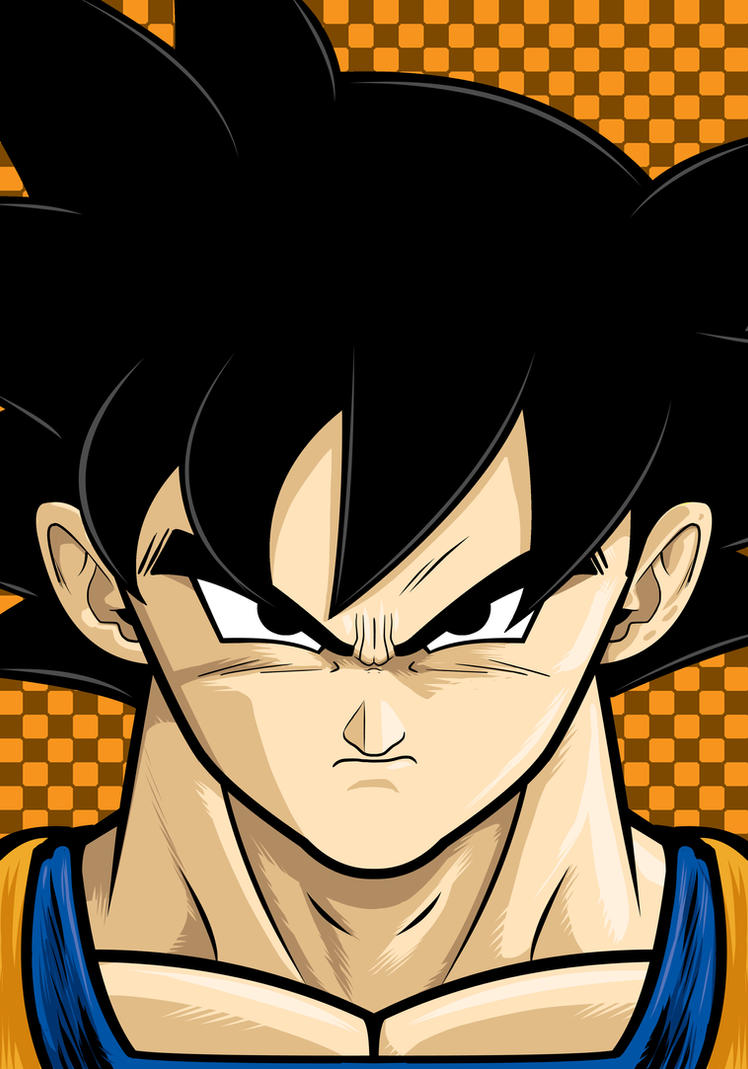 Goku by Thuddleston