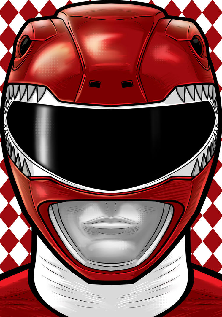 Red Ranger by Thuddleston