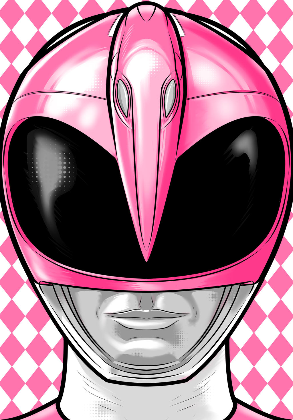 Pink Ranger by Thuddleston