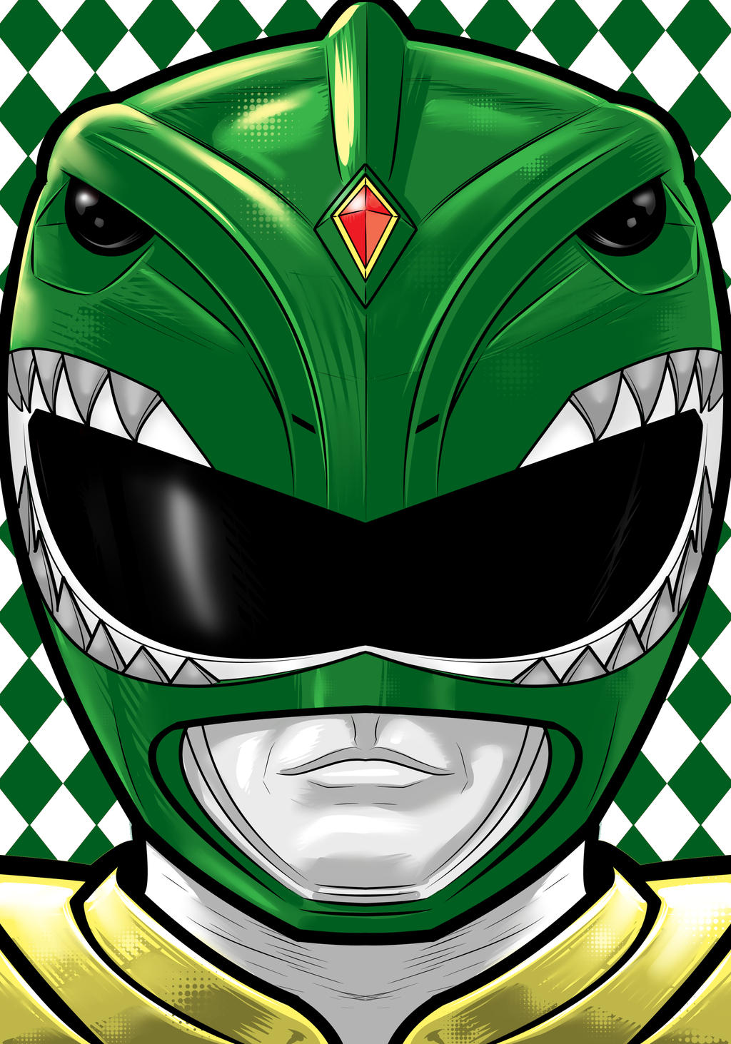 Green Ranger by Thuddleston
