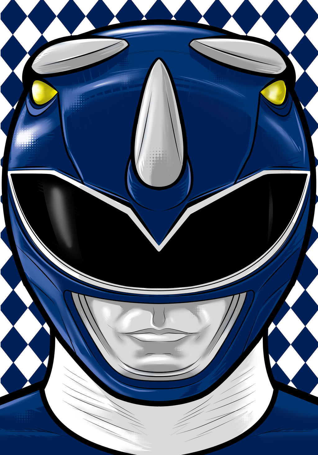 Blue Ranger by Thuddleston
