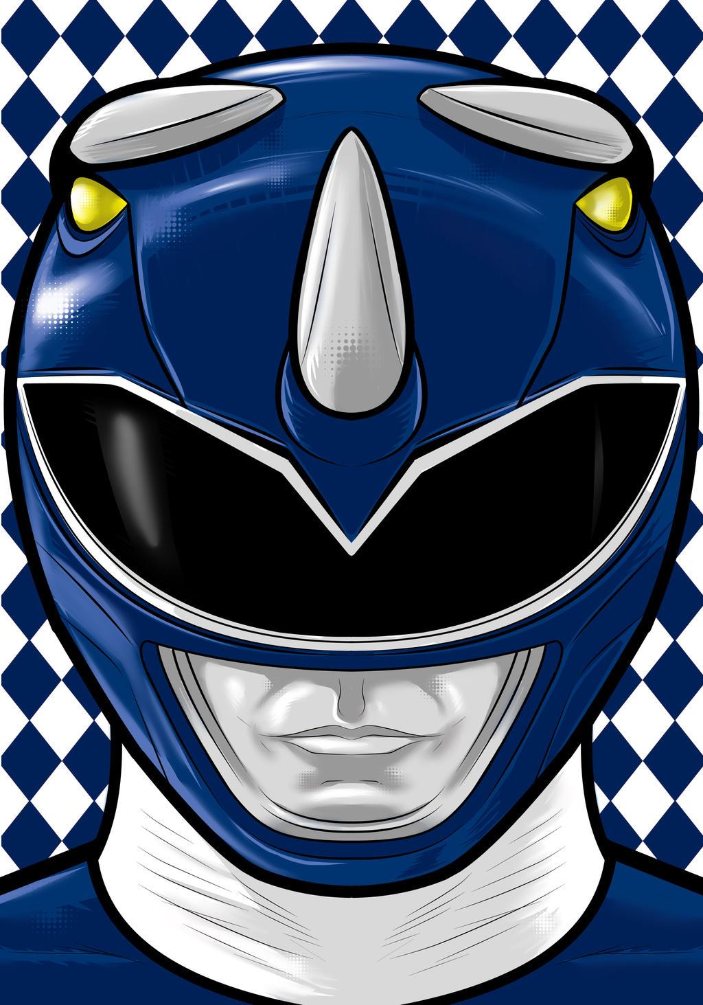 Blue Ranger By Thuddleston On Deviantart