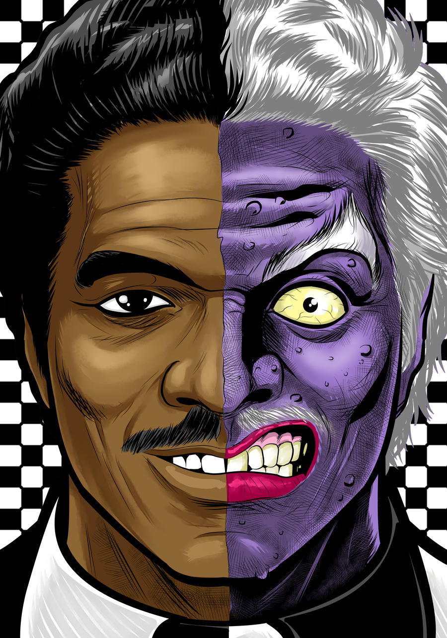 Billy Dee Twoface by Thuddleston