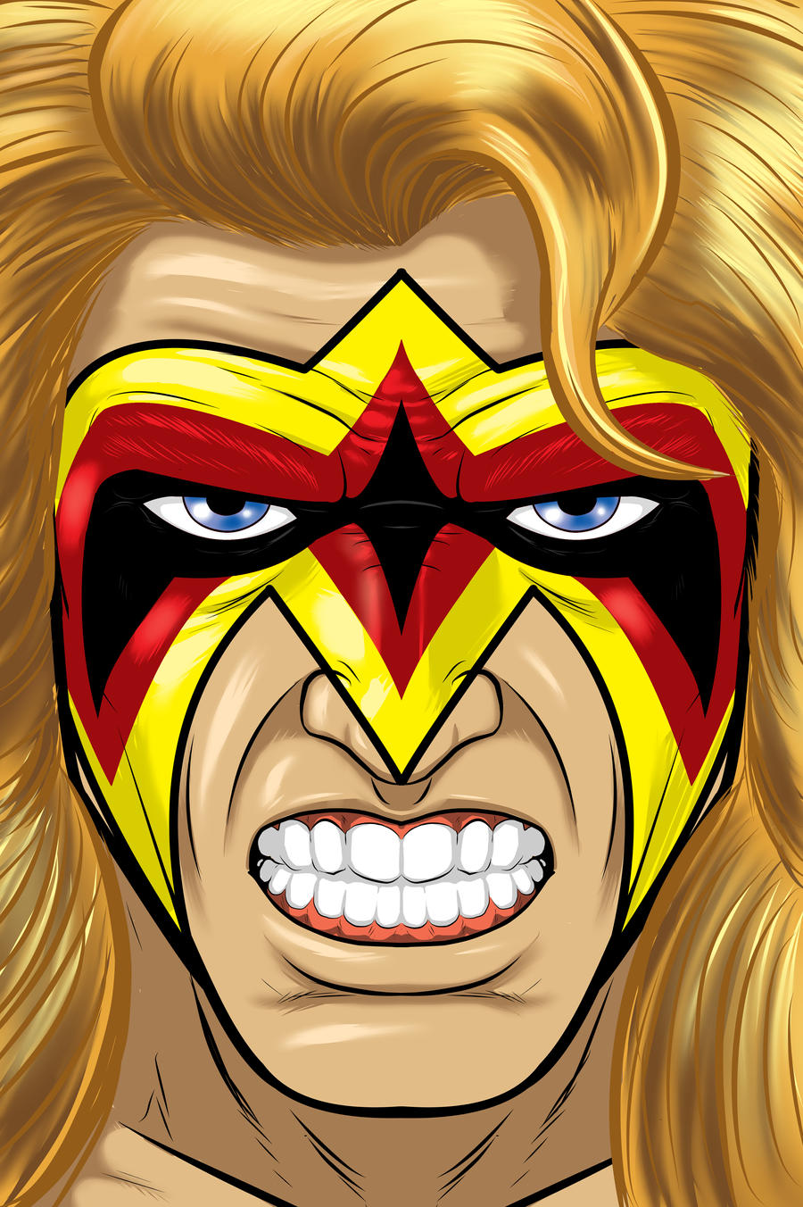 Ultimate Warrior by Thuddleston
