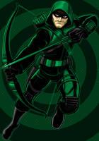 Green Arrow by Thuddleston