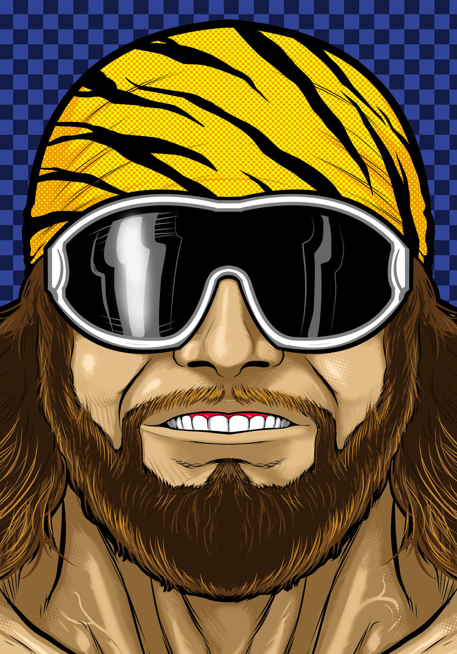 Macho man by Thuddleston