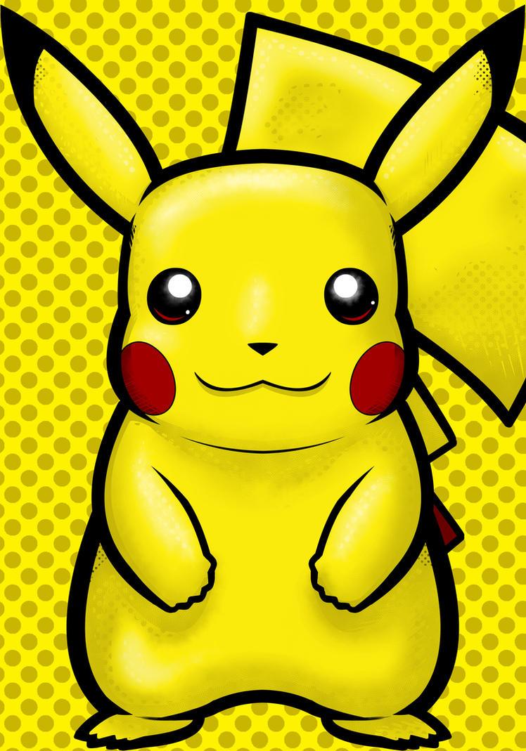 Pikachu by Thuddleston
