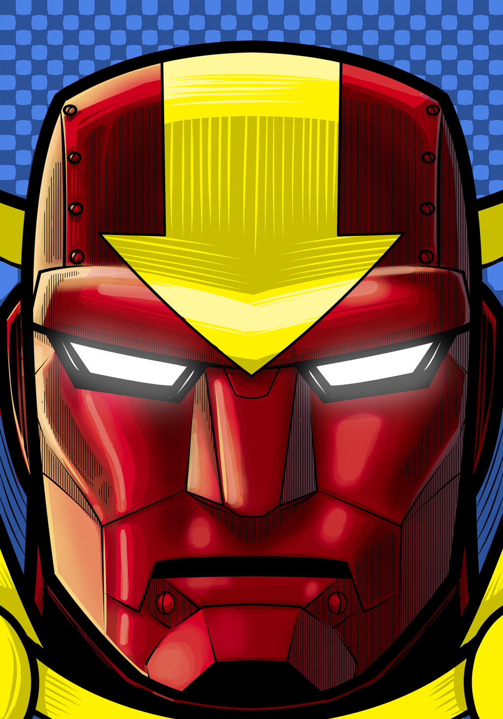 Red Tornado Headshot by Thuddleston