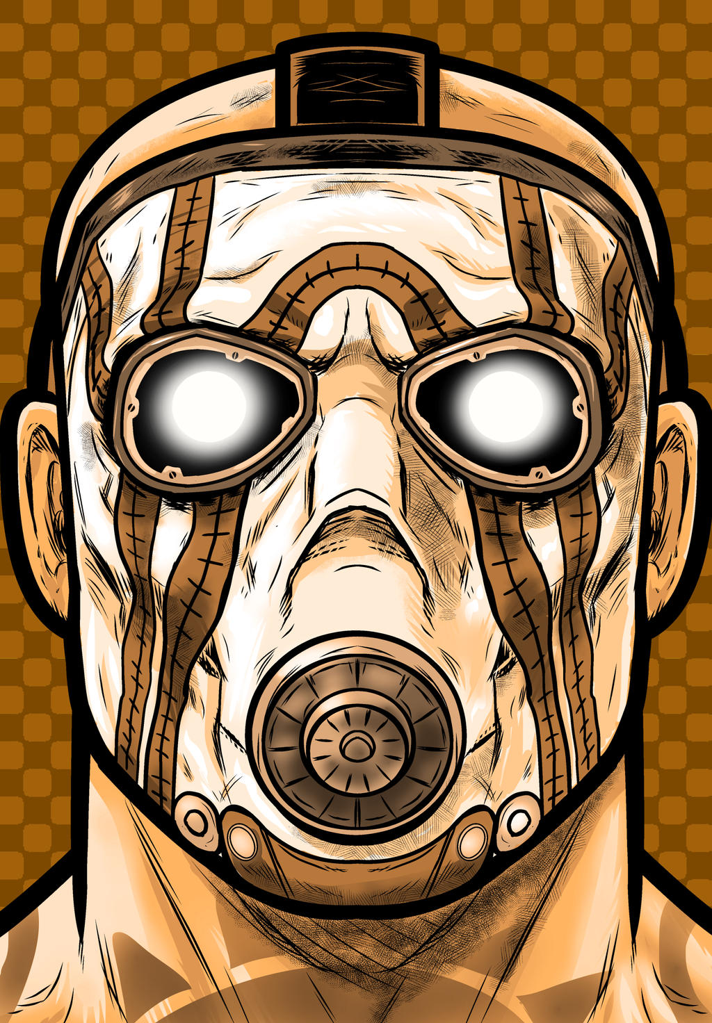 Borderlands Psycho by Thuddleston on DeviantArt