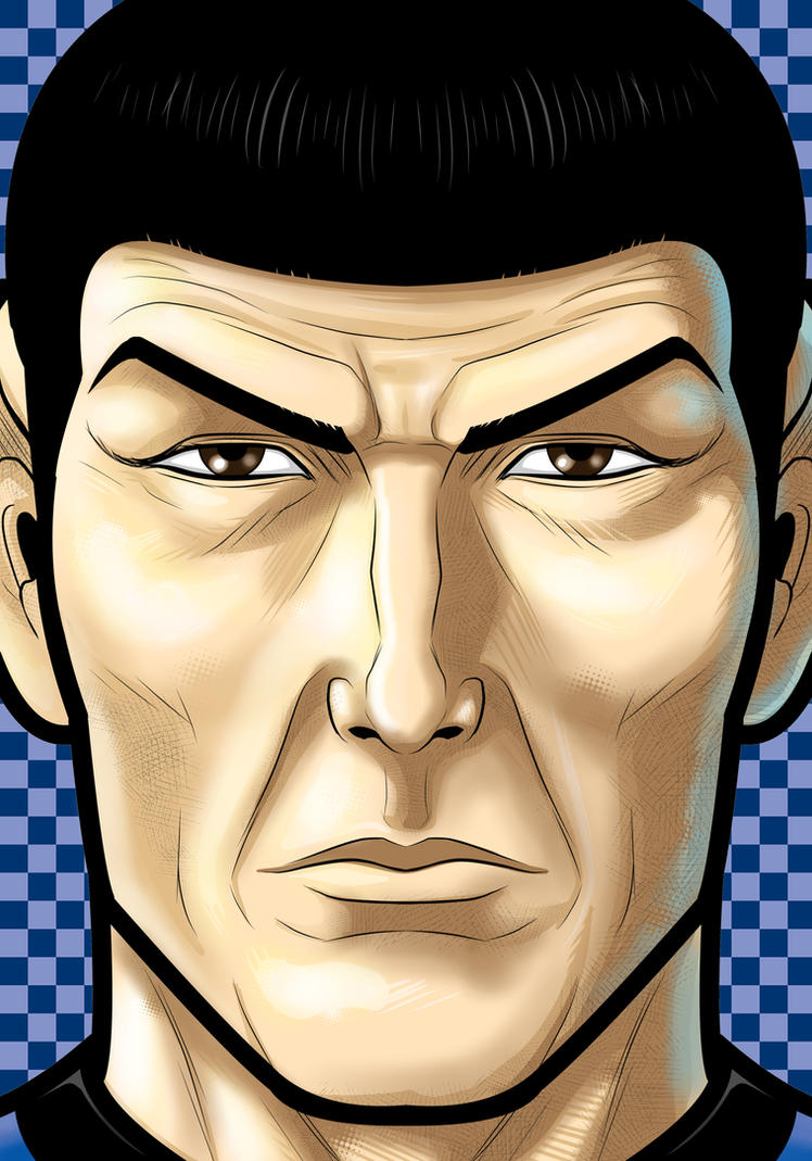 Spock by Thuddleston