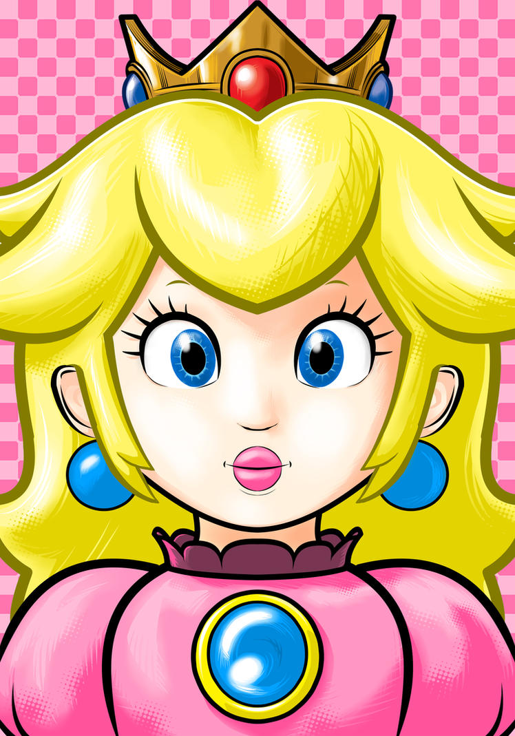 Princess Peach by Thuddleston