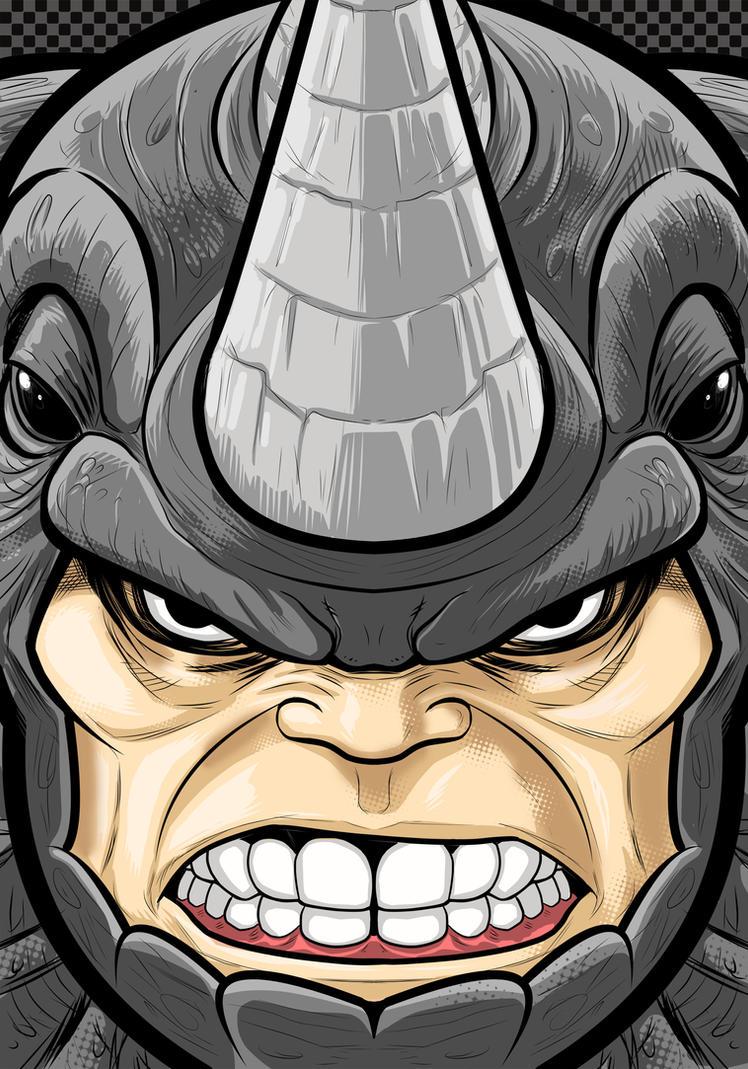 Rhino by Thuddleston
