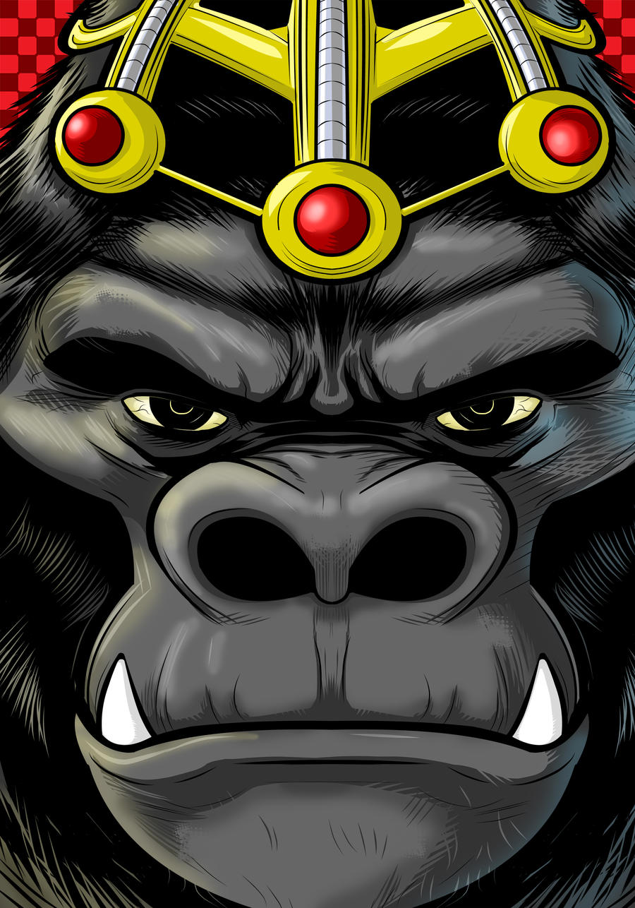 Gorilla Grodd by Thuddleston