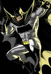 Dark Knight Batman Black Commission