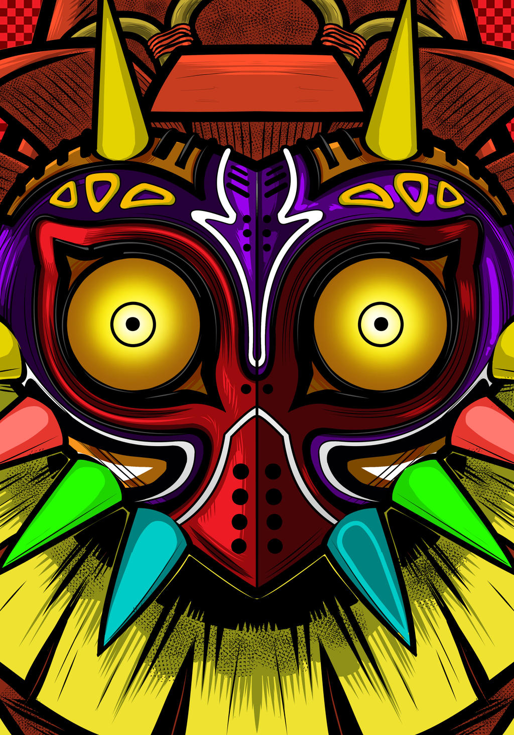 Majora S Mask Art Skull Kid