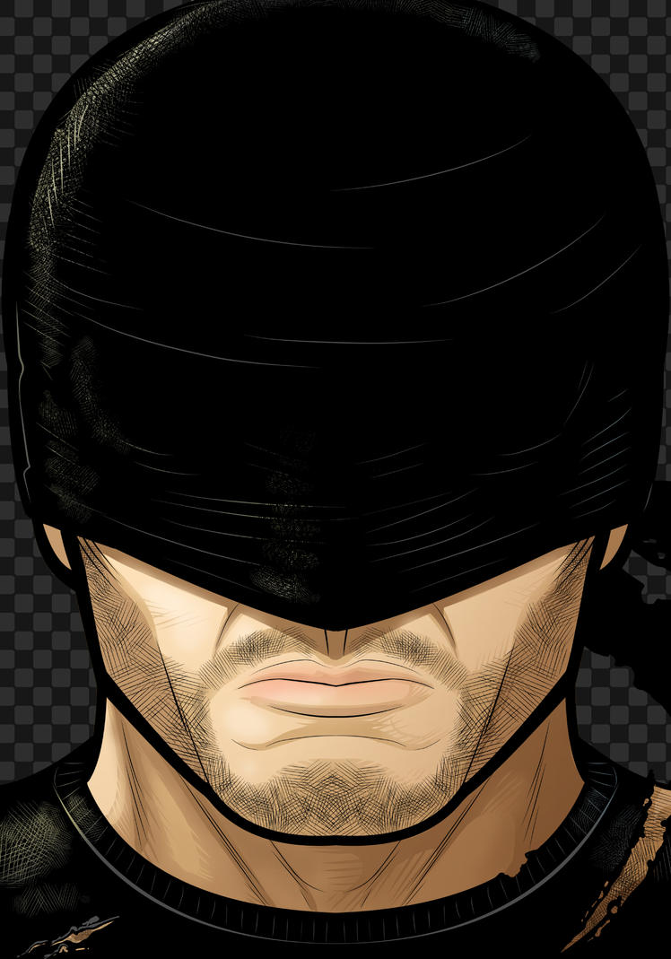 Daredevil Head Shot by Thuddleston