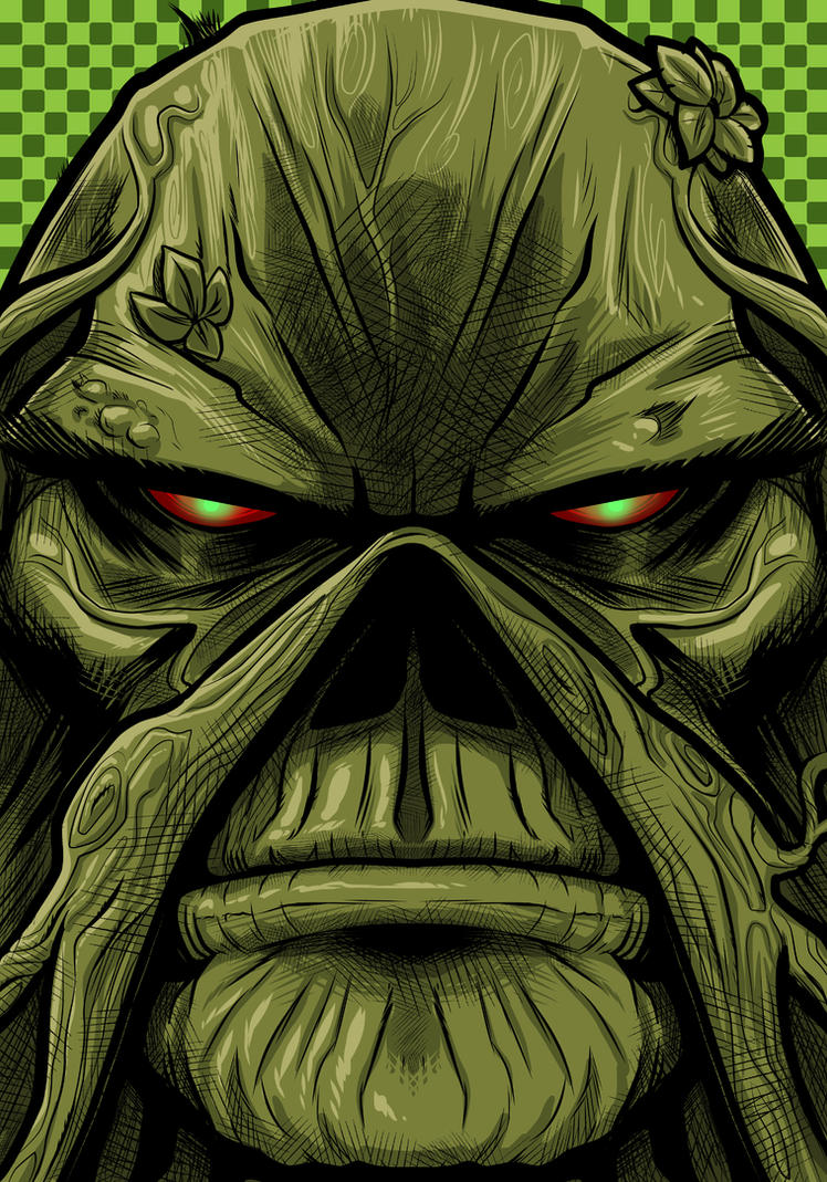 Swampthing Commission by Thuddleston