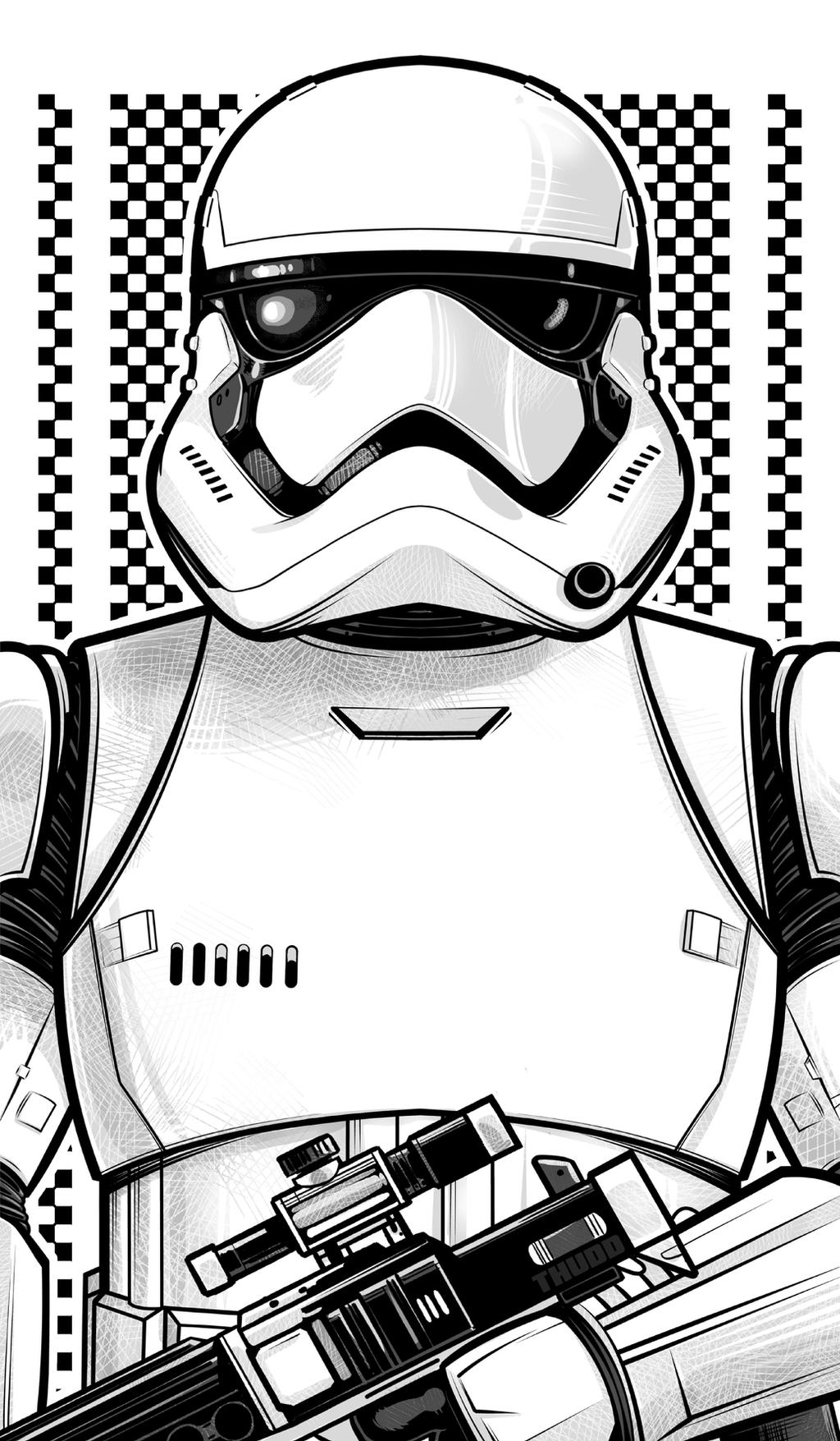 New Stormtrooper by Thuddleston on DeviantArt