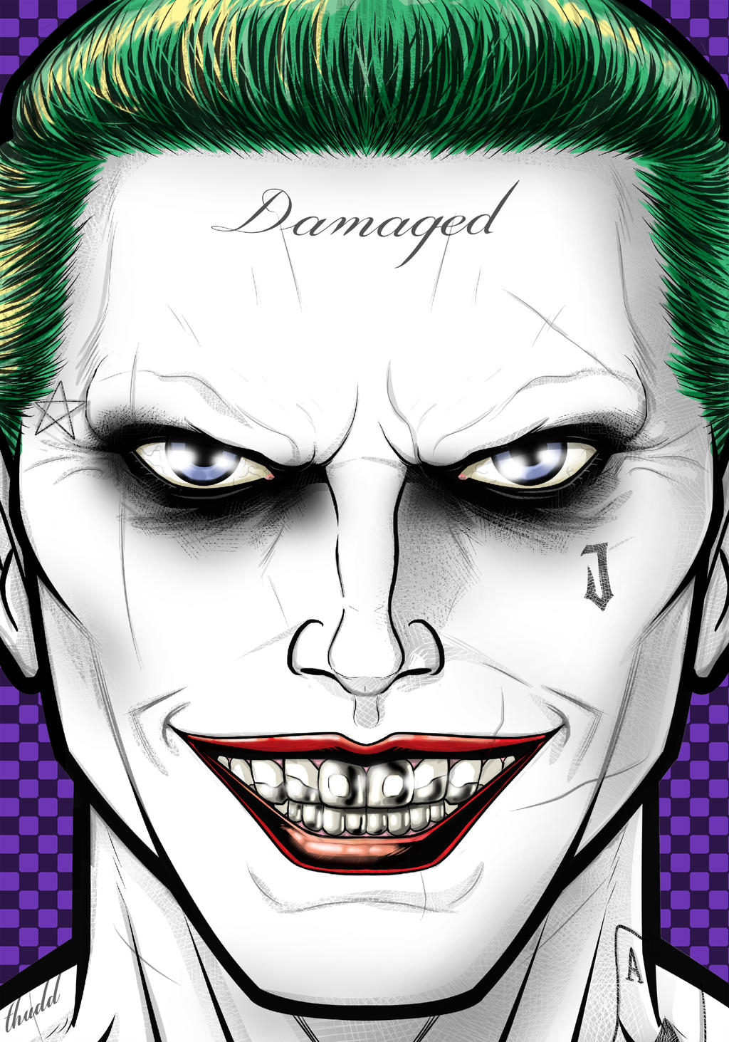 Jared Leto Joker by Thuddleston