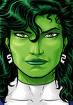 She Hulk Headshot 2017